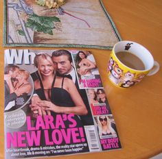 As close as I will get to having a coffee with Lara Bingle #beinganordinaryhomebody >>>me