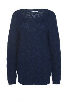 SIS by Spijkers en Spijkers MOHAIR PULLOVER (NAVY)  215EURO http://spijkersenspijkers.nl/shop/all-products/mohair-pullover-navy.html #mohair #pullover #knitwear #oversized #fashion #fashion2013 #fashion2014 #style #mode #inspiration #christmasgift #christmas #gift