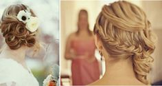 Updo's to the side...lovely!