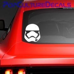 Stormtrooper Vinyl Decal, 3-10 inches, Car, Graphics, Die Cut Vinyl, Decal, Window, Sticker, Star Wars Force Awakens