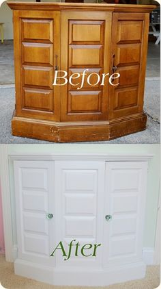 Painted furniture with tutorial - if only I had read this before I did my table.
