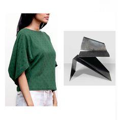 Origami inspired sleeves #urbanislanddetails #origami #Linen #details #sleeve…