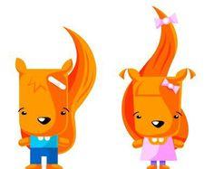 Wiewiór i wiewióra we własnej osobie :)