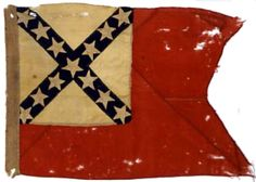 Used as Gen. William L Jackson's HQ flag during the war.