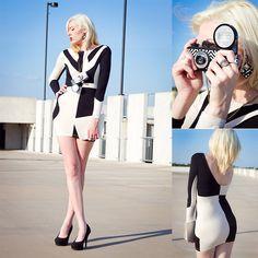 Mod(ern) Mod inspired dress by Motel Rocks.