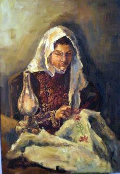 Oil on Canvas 100 X 70 cm  by Artist : Lina Nabhani