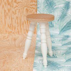 Tabouret liége http://blomkal.com/ #madeinfrance# #wood #createur #table #tabouret #home