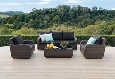 Mediterranean 4pce Lounge Setting. | Super A-Mart