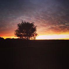 Por do sol de anteontem #malasepanelas #saomigueldasmissoes #pordosol #travelgram #rbbv #viagem #sunset #missoes #rs #riograndedosul