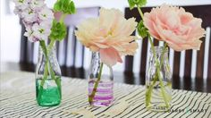 Make Stained Glass Milk Bottles