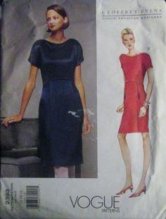 Vogue 2393 American Designer Beene Womens Dress by Denisecraft, $24.99