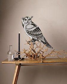 owl foam board