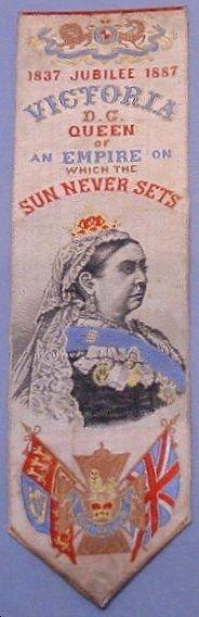 Queen Victoria Silver Jubilee bookmark
