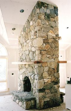 how awesome are two sided fireplaces???