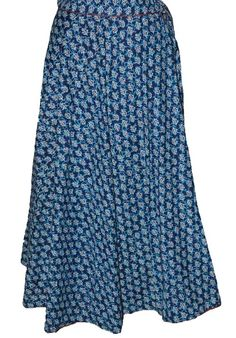 Blue  Coloured Block Print Jaipuri Wraparound Skirt  http://alicolors.com/index.php?route=product/product&product_id=1172