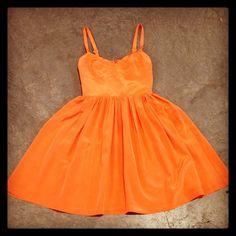 Orange Splash! Photo by Clothes Horse