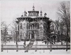 Amasa Stone House, 1255 Euclid Avenue, Cleveland, completed in 1857