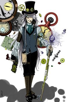 I'm the most beautiful death!!!! Undertaker — Undertaker: Time master~