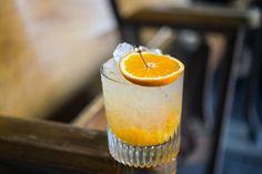 It's So Easy cocktail recipe | Photo: Daniel Krieger gin, lemon juice, simple syrup, clementine, orange cream citrate