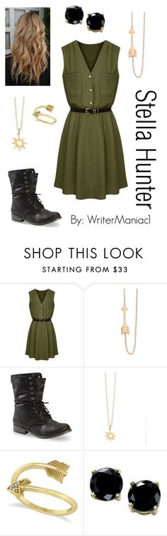 """The Dark and the Light"" by writermaniac1 ❤ liked on Polyvore featuring Jennifer Meyer Jewelry, Allurez and B. Brilliant"