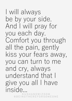 Love and Prayers...'cause you are always on my mind and in my heart...My Sweet Carissa