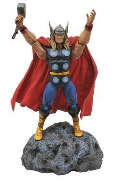 Figura The Avengers (Los Vengadores). Thor, Marvel Select 18cm