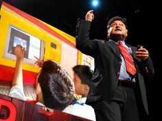 Education scientist Sugata Mitra tackles one of the greatest problems of education -- child-driven education TED talk
