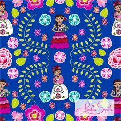 Kess InHouse Anneline Sophia Laurel Leaf Green Teal Floral Round Beach Towel Blanket