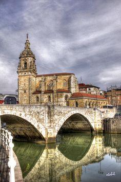 San Antón - Bilbao (Spain) imagen plasmada en el escudo de Bilbao