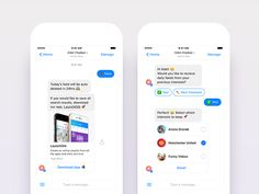 Working on a chatbot flow design for LaunchOrb app by Nimasha Perera #Design Popular #Dribbble #shots