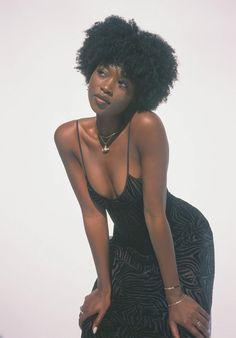 Black Girl Magic, Black Girls, Black Girl Style, Curly Hair Styles, Natural Hair Styles, High Waisted Knickers, Black Slip Dress, Brown Skin Girls, Black Girl Aesthetic