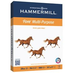 Hammermill Paper, Fore MP, 11 x Ledger, 96 Bright, 500 Sheets / 1 Ream Made In The USA Excellent image contrast 96 Brightness Basis Weight Forest Stewardship Council (FSC)certified Jam-Free Guarantee Legal Size Paper, Eco Label, Online Paper, Forest Stewardship Council, Copy Paper, Letter Size Paper, Printer Paper, Gel Pens, Get The Job