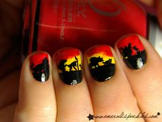 Oh No They Didn't! - Pop Culture Nail Art Megapost