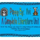 This is a 39 page mega unit on Poppy, By:  Avi.  This unit is complete with activities that span the curriculum and have already been used in my cl...