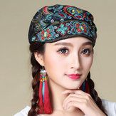 9dbca8ddb6b07  US 7.99 51% OFF  Women Winter Cotton Multi-purpose Flower Printing Beanie  Cap Neck Gaiter Warm Face Shield Hats Women s Accessories from Clothing and  ...