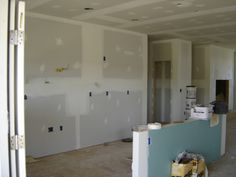 More Drywall Work