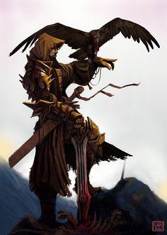 Men in fantasy art : Photo