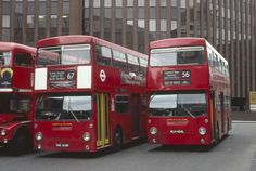 London Underground Train, Routemaster, Double Decker Bus, Red Bus, Bus Coach, London Bus, London Transport, Bus Station, Busses