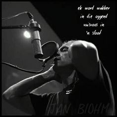Jan Blohm - Word Wakker Afrikaans, Singers, Lyrics, Bands, Concert, Artist, Artists, Song Lyrics, Band