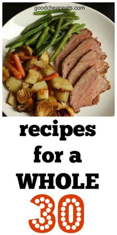 Healthy Recipes : Illustration Description Want to do a Whole 30 or other paleo-style diet? Here are the recipes to make it easy! Clean Eating Recipes, Easy Healthy Recipes, Paleo Recipes, Real Food Recipes, Healthy Snacks, Healthy Eating, Cooking Recipes, Detox Recipes, Food Tips