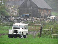Series IIa Land Rover