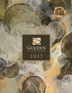 2017 Golden Lighting Catalog  Founded in 1982, Golden Lighting was established as an importer of manufactured products from overseas. During the 1990s, the company uncovered significant distribution opportunities in the decorative residential lighting market. Today, Golden Lighting sells primarily to lighting showrooms throughout the United States and Canada. Golden Lighting has an outstanding reputation for understanding customer needs and incorporating those needs into its product…