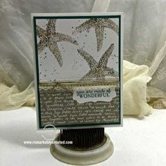 A Stampin' UP! Picture Perfect Starfish