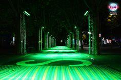 #märkischesviertel #kiezimlicht #gesobau #festivaloflights #fol #berlin #lights #illumination