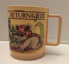 "(TAS012713) - Star Wars Return of the Jedi mug - ""Wicket the Ewok"""