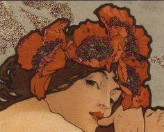 Alphonse Mucha sleeve summer