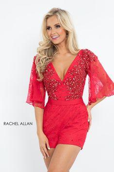 Rachel Allan Little Black Dresses dress with Style - Neckline - V-Neck b3e58cd64