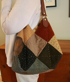 Cute handsewn bag, and the necessary geometry to achieve it! (Wee Wonderfuls)