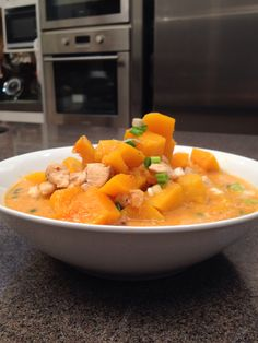 Brazilian Quibebe (butternut squash) for #kckitchen game cookshow on @8TV.