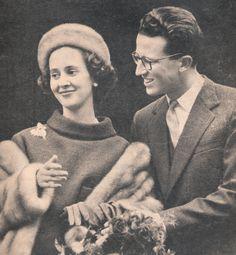 Baudouin et Fabiola en couverture du magazine LE soir illustré septembre 1960 n°1475 , titre Bruxelles en fête.